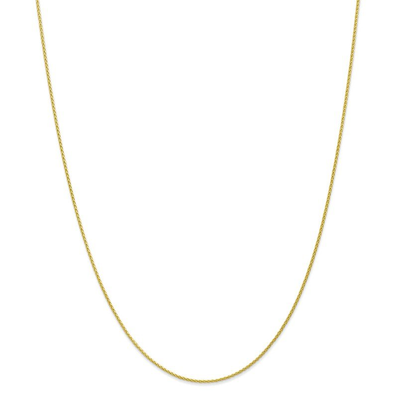 Quality Gold 10k 1.2mm Parisian Wheat Chain Anklet