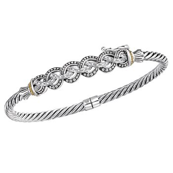 Ladies Fashion Diamond Bangle