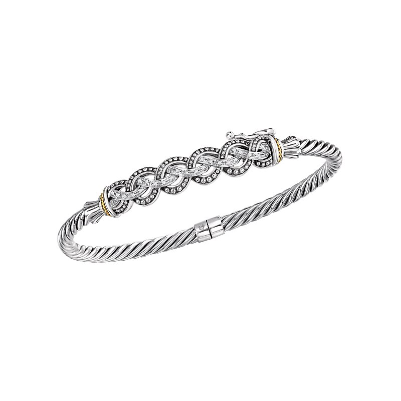 55a32658ab7 Redford Jewelry and Coin: Eleganza Ladies Fashion Diamond Bangle