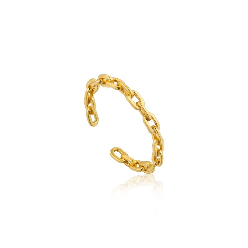 Ania Haie Chain Adjustable Ring