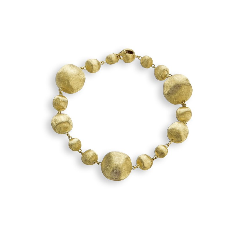 Marco Bicego Africa Gold Mixed Bead Small Bracelet