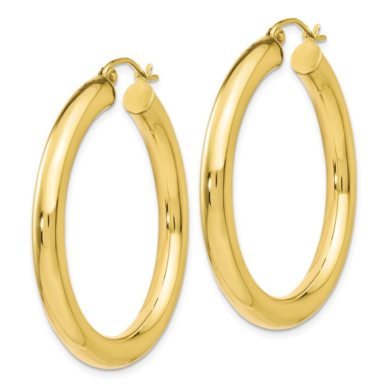 Leslie's Leslie's 10K Polished Lightweight Hoop Earrings