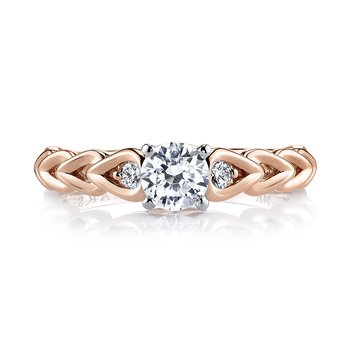 MARS 25803 Diamond Engagement Ring 0.09 ct tw