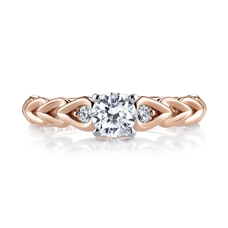 MARS Jewelry MARS 25803 Diamond Engagement Ring 0.09 ct tw