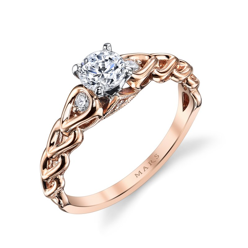 MARS Jewelry - Engagement Ring 25803
