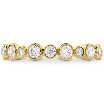 0.62 ctw. HOF Bezel Diamond Band