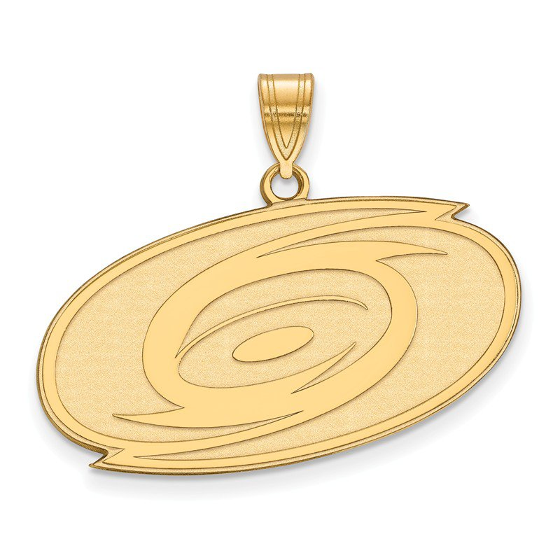 NHL Gold Carolina Hurricanes NHL Pendant