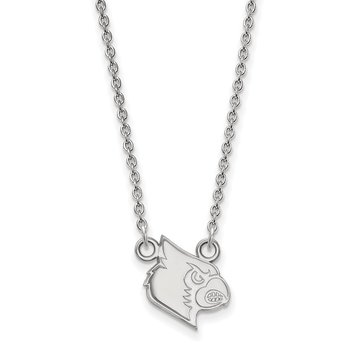 Sterling Silver University of Louisville NCAA Necklace