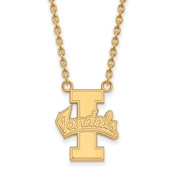 Gold-Plated Sterling Silver University of Idaho NCAA Necklace
