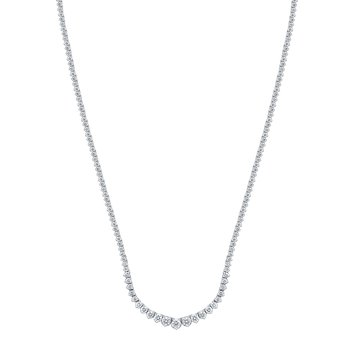 14K 5.00Ct Diam Necklace