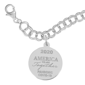 Covid-19 America We Are Together Bracelet Set