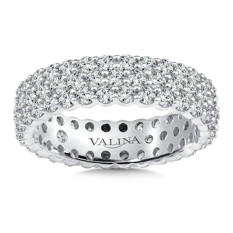 Valina Valina Eternity Band (Size 6.5) in 14K White Gold (2.34ct. tw.)