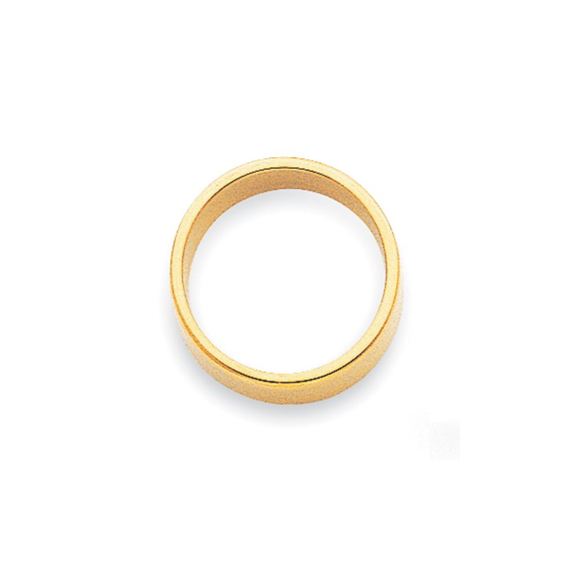 Quality Gold 14KY 2mm LTW Flat Band Size 10