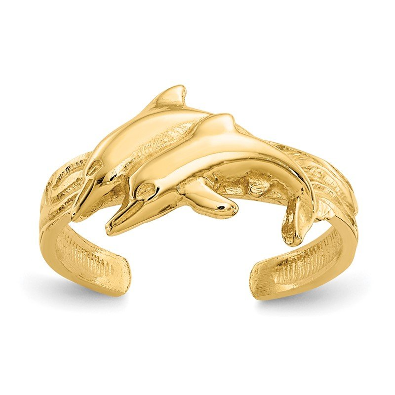 Lester Martin Online Collection 14K Dolphin Toe Ring