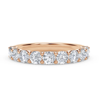 Forevermark 9 Stone Ladies Diamond Wedding Band