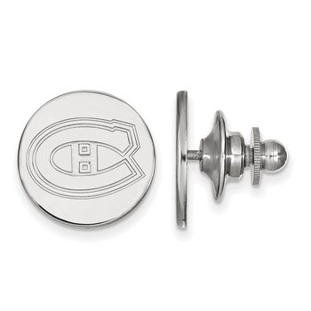 Sterling Silver Montreal Canadiens NHL Lapel Pin