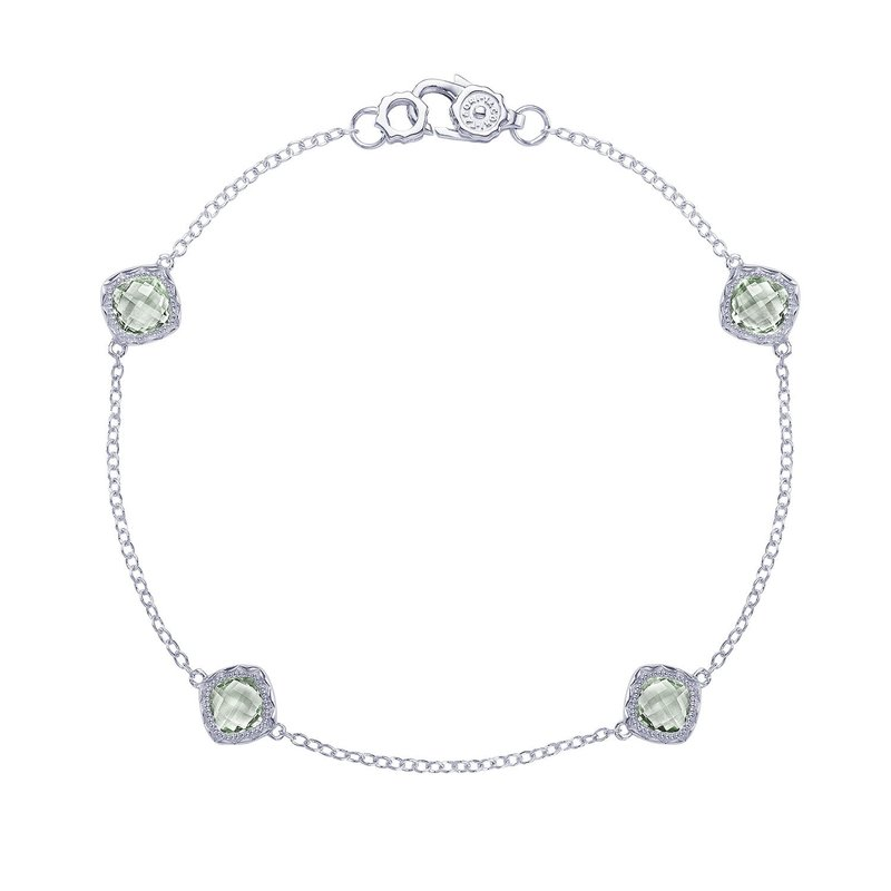 Tacori Fashion 4-station bracelet with Prasiolite