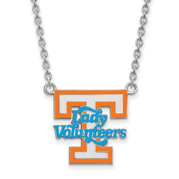 Sterling Silver University of Tennessee NCAA Necklace