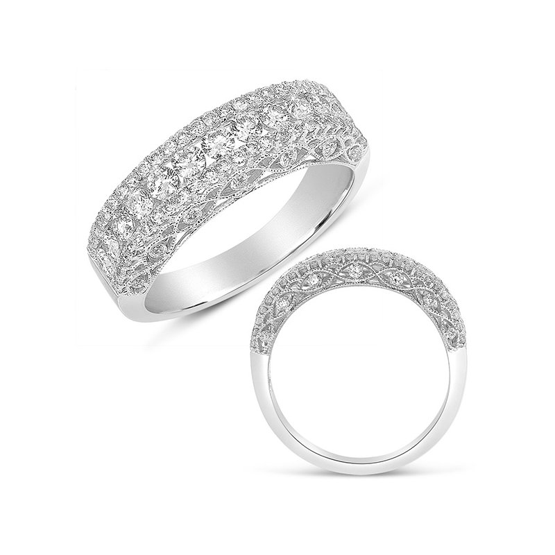 Briana White Gold Fashion Diamond Ring