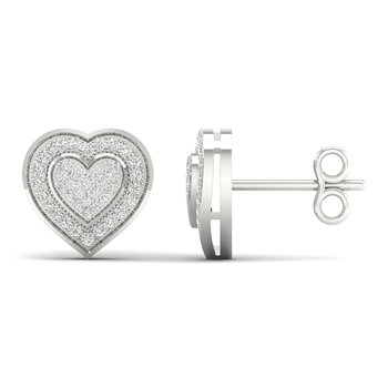 10K 0.20Ct Diam Earrings