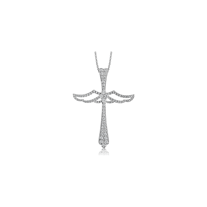 Simon G LP4398 CROSS PENDANT