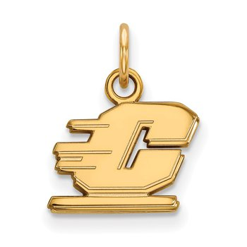 Gold-Plated Sterling Silver Central Michigan University NCAA Pendant