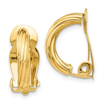 14k Non-Pierced Earrings