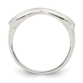 Sterling Silver Polished Infinity Ring