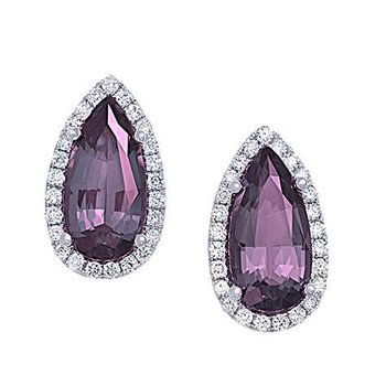 Alexandrite Earrings-CE3832WAL