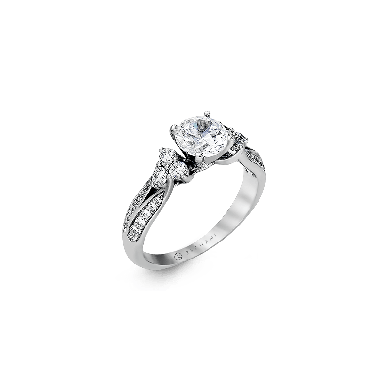Zeghani ZR342 ENGAGEMENT RING