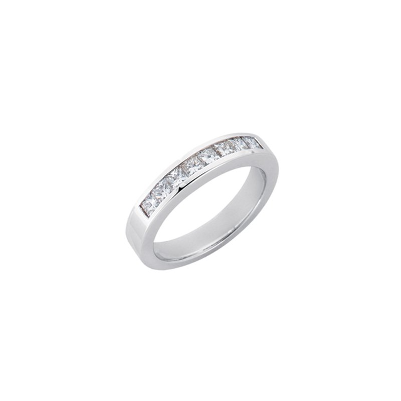 S. Kashi & Sons Bridal Diamond Princess Band
