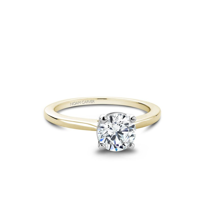 Noam Carver Solitaire Engagement Ring