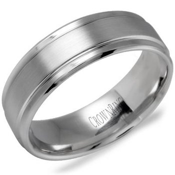CrownRing Men's Wedding Band WB-9502