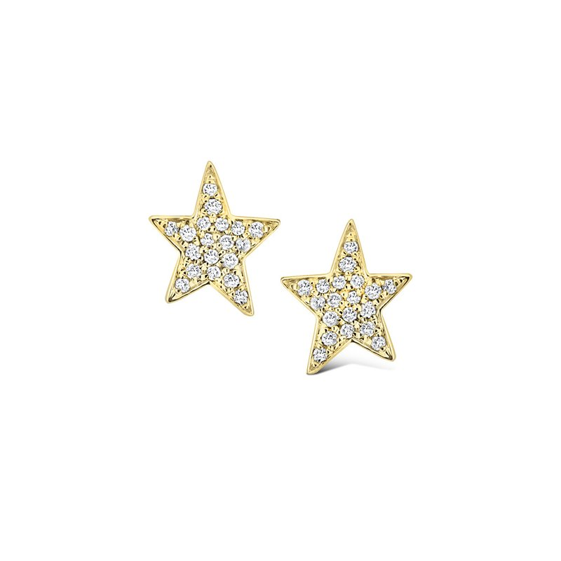 KC Designs 14K Diamond Star Earrings