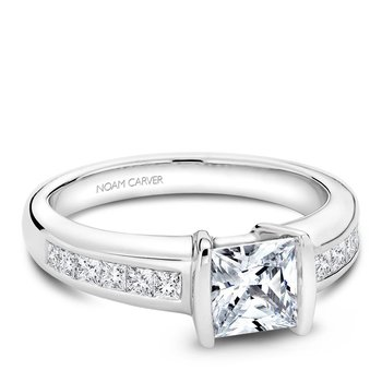 Noam Carver Fancy Engagement Ring B033-01A