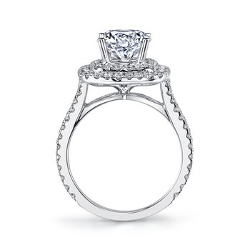 MARS 26492 Diamond Engagement Ring 0.88 Ctw.