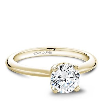 Noam Carver Modern Engagement Ring B027-01YA