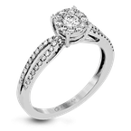 Zeghani ZR1394 ENGAGEMENT RING
