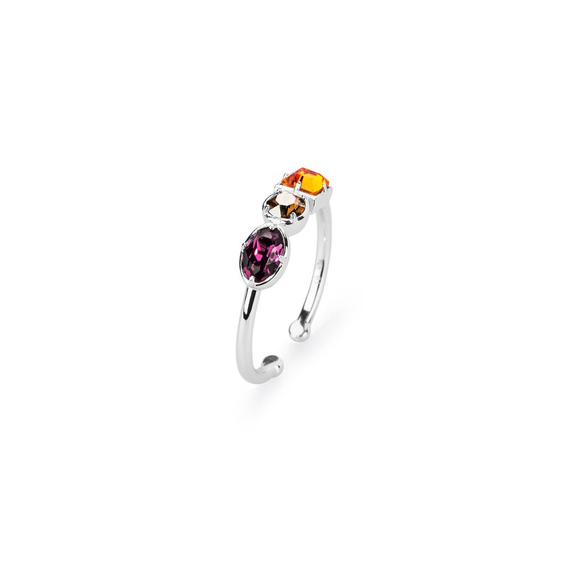 Brosway 925‰ sterling silver and coloured Swarovski® Elements crystals.