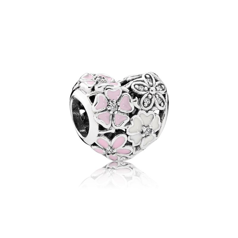 2ed4c4868285b JMR Jewelers: PANDORA Poetic Blooms, Mixed Enamels Clear Cz