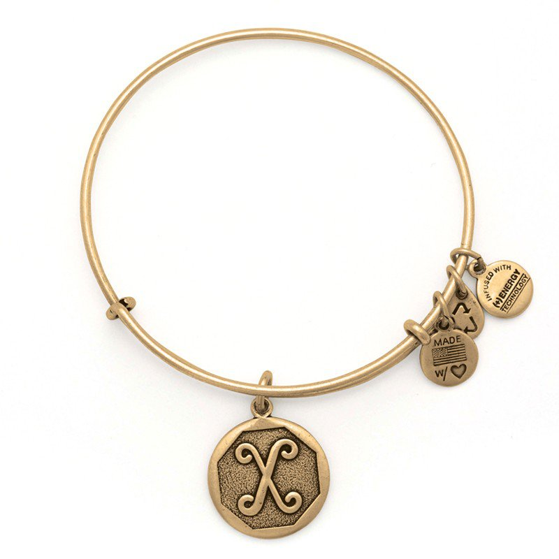 Alex and Ani INITIAL X EWB,  RG