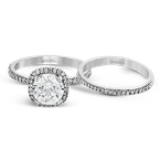 Simon G MR1840-A WEDDING SET