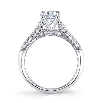 MARS 25447 Diamond Engagement Ring  0.50 Ctw.
