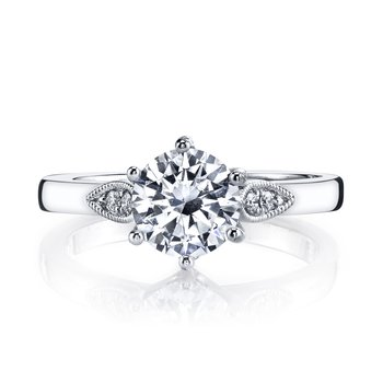 MARS 26697 Diamond Engagement Ring, 0.09 Ctw