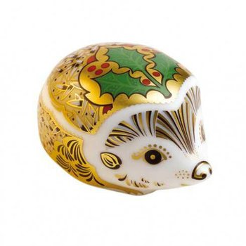 Holly Small Hedgehog Paperweight