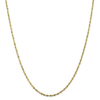 Leslie's 10K 1.8mm Diamond-Cut Lightweight Rope Chain