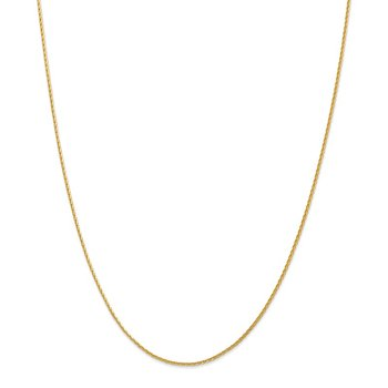 Leslie's 14K 1.3mm D/C Spiga (Wheat) Chain