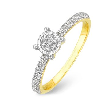 14K 0.15Ct Diamond Ring
