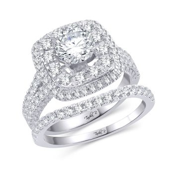 14K 1.25Ct Diam Semi Mount Ring