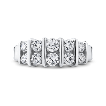 14K White Gold 1 Ct Diamond Fashion Ring